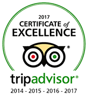 2017 Certificate TripAdvisor Excellence