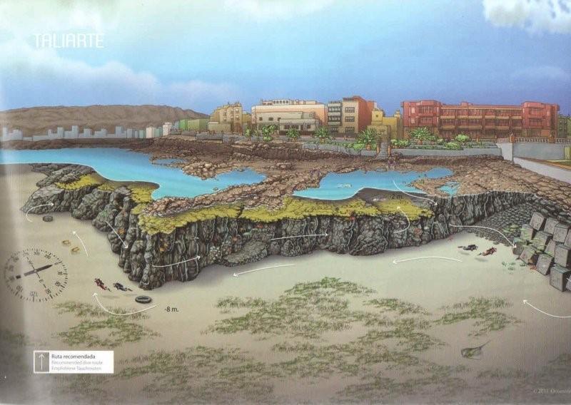 Gran Canaria Dive Sites - Taliarte