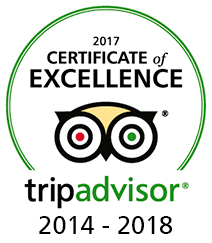 2018 Certificate TripAdvisor Excellence